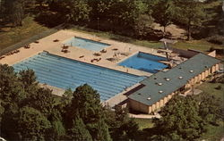 Outdoor Swimming Pool, Indiana University