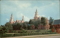Administration Building and Willingham Chapel, Mercer University