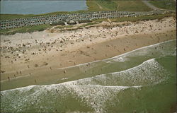 Aerial View Coast Guard Beach National Seashore