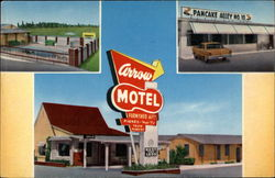 Arrow Motel and Apartments Postcard