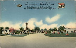 Broadmoor Hotel Court
