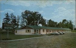 Faulds Motel Postcard