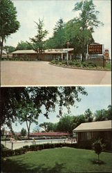 Deluxe Motel, Inc Postcard
