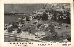 Aerial View of Paradise Trailer Park