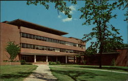 David Worth Dennis Science Hall, Earlham College Postcard
