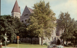 Wayne County Courthouse in Richmond, Indiana Postcard