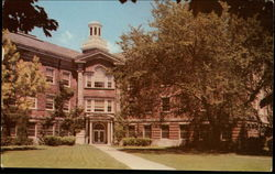 Carpenter Hall, Earlham College Postcard