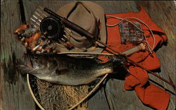 The Sportsman's Dream - Fishing Gear and Catch
