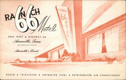Ranch 66 Motel Postcard