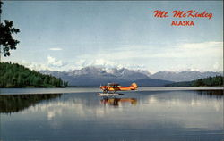 Highest Peak in USA Postcard