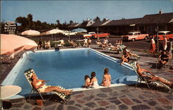 The Sands Motor Lodge Postcard