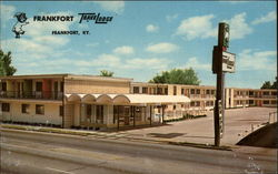 Frankfort TraveLodge Postcard