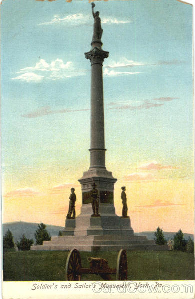 Soldier's and Sailor's Monument York Pennsylvania