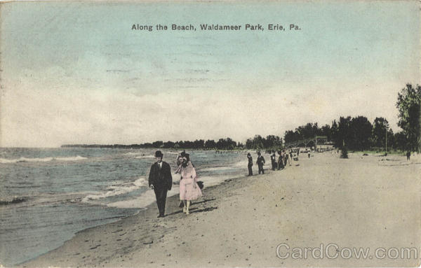 Along the Beach, Waldameer Park Erie Pennsylvania