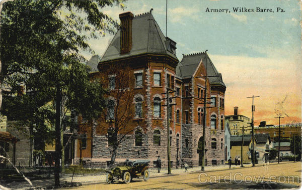 Armory Wilkes Barre Pennsylvania