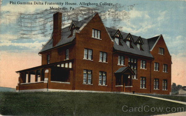 Phi Gamma Delta Fraternity House Allegheny College