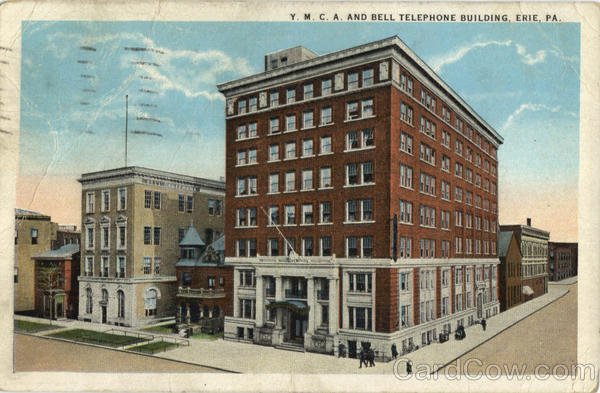 Y. M. C. A and Bell Telephone Building Erie Pennsylvania