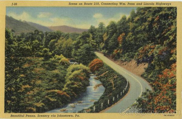 Beautiful Penna Scenery Johnstown Pa
