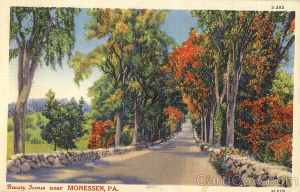 Beauty Scenes Monessen Pennsylvania