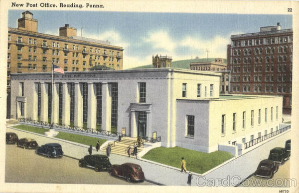 New Post Office Reading Pennsylvania