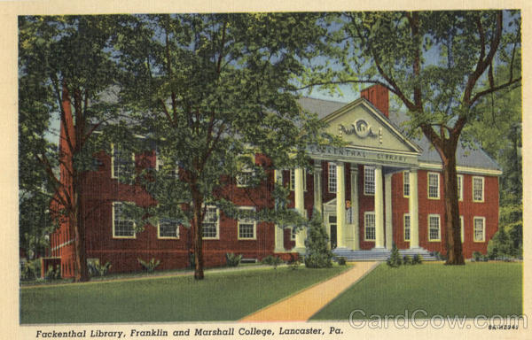 Fackenthal Library, Franklin and Marshall College Lancaster Pennsylvania