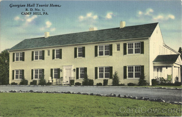 Georgian Hall Tourist Home, R.D. No 1 Camp Hill Pennsylvania