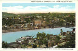 Bird's Eye View of Brownsville, East End Heights Postcard