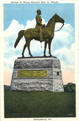 Statue of Major General Geo. G. Meade