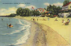 Waldameer Beach Showing Cottages & Hotel
