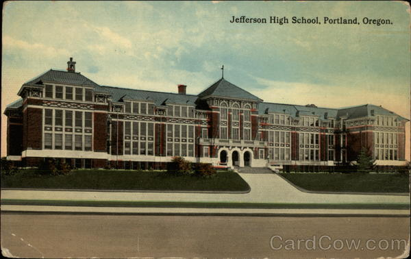 Jefferson High School Portland Oregon