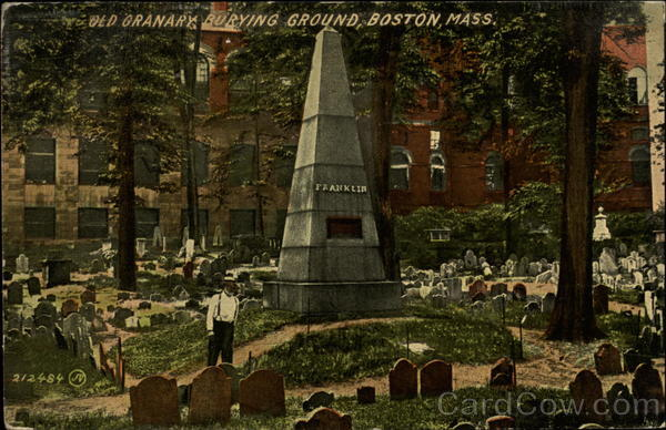 Old Granary Burying Ground Boston Massachusetts
