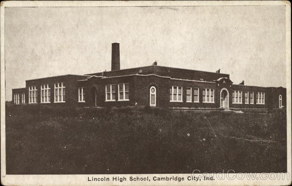 Lincoln High School Cambridge City In