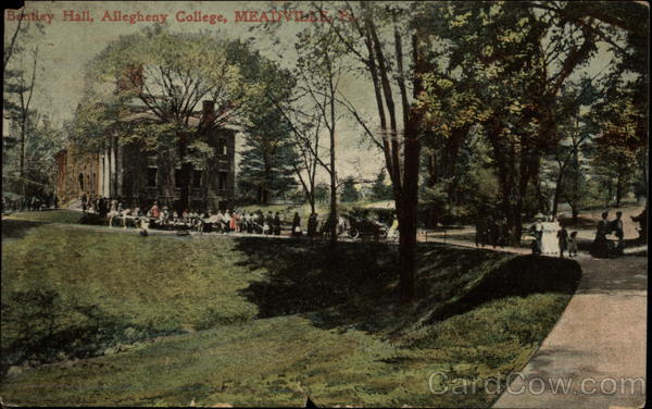 Bentley Hall, Allegheny College Meadville Pennsylvania