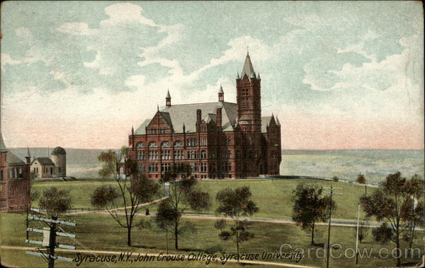 John Crouse College, Syracuse University New York