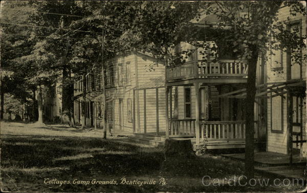 Cottages, Camp Grounds Bentleyville Pennsylvania