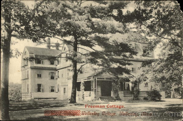 Freeman Cottage, Wellesley College Massachusetts