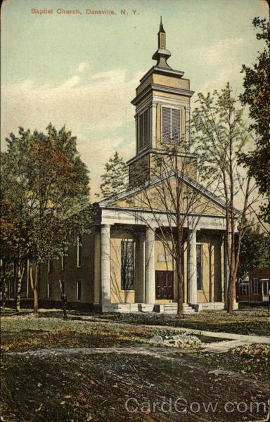 Baptist Church Dansville New York