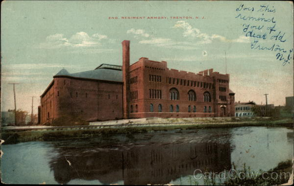 2nd Regiment Armory Trenton New Jersey