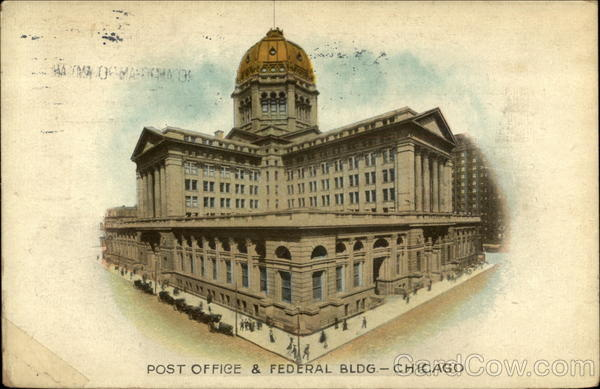 Post Office & Federal Bldg Chicago Illinois
