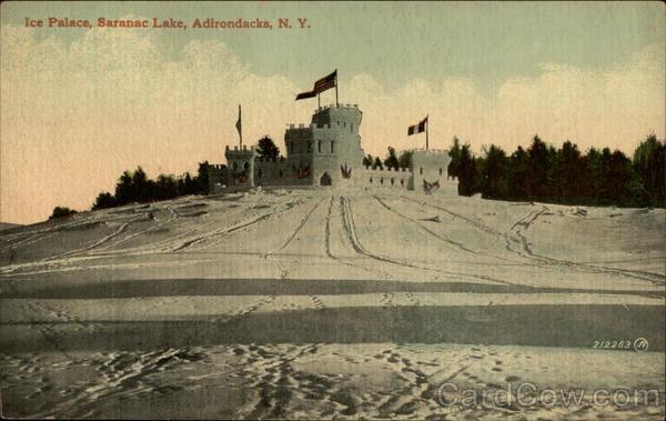 Ice Palacem, Adirondacks Saranac Lake New York