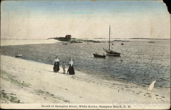 Mouth of Hampton River, White Rocks Hampton Beach New Hampshire
