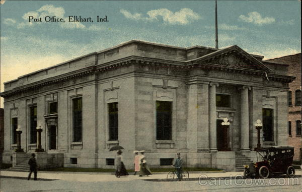 Post Office Elkhart Indiana