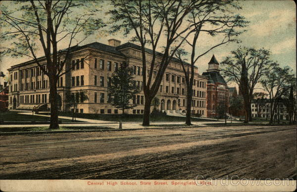 Central High School, State Street Springfield Massachusetts