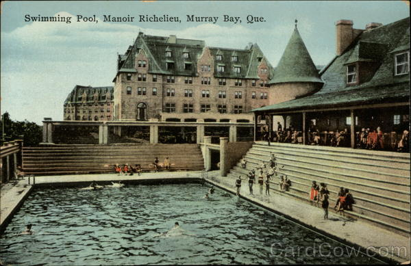 Swimming Pool, Manoir Richelieu Murray Bay Canada Quebec