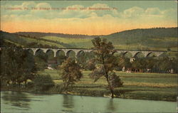 The Bridge from the River, Near Susquehanna