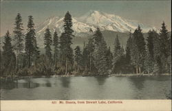 Mt. Shasta from Stewart Lake