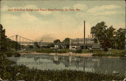 East Side Foot Bridge and Peters Shoe Factory