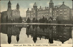 Chapel and Main Bldg., St. Joseph's College