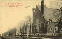 St. Paul's M. E. Church and North Morgan Street
