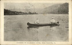 Canoeing on Allegheny River